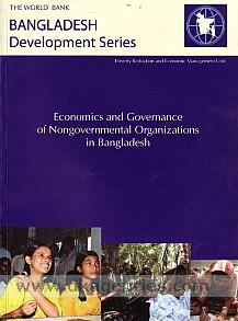 Economics and governance of nongovernmental organizations in Bangladesh.