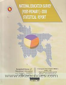 National education survey (post-primary) 2008 :  statistical report.