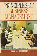 Principles of business management /