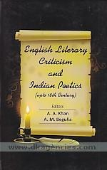 English literary criticism and Indian poetics :  (upto 18th century) /