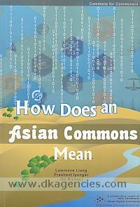How does an Asian commons mean /