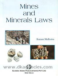 Mines and minerals laws /