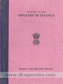 Budget volume for 2010-2011 /