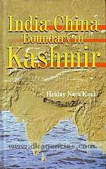 India China boundary in Kashmir /