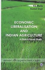 Economic liberalisation and Indian agriculture :  a district-level study /