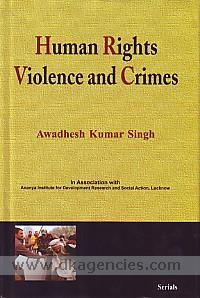 Human rights, violence and crimes /