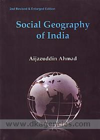 Social geography of India /