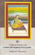 Critical essays on Indian writing in English /