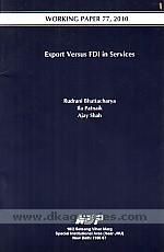 Export versus FDI in services /