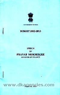 [Budget documents, 2012-2013] /