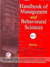 Handbook of management and behavioural science, vol. VI /