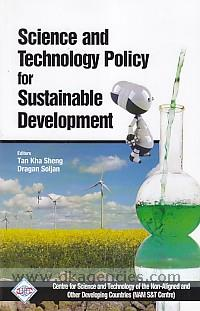 Science and technology policy for sustainable development /