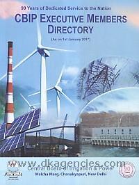 CBIP executive members directory.