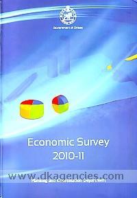 Economic survey, 2010-11 :  Orissa /