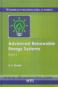 Advanced renewable energy systems /