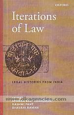 Iterations of law :  legal histories from India /