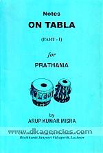 Notes on tabla /