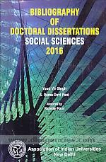 Bibliography of doctoral dissertations. Social sciences, 2016 /