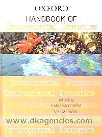 Handbook of environmental economics in India /