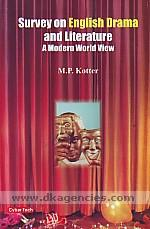 Survey on English drama and literature :  a modern world view /