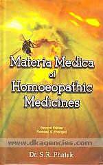 Materia medica of homoeopathic medicines /