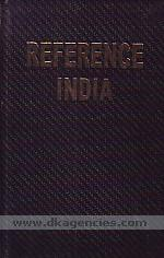 Reference India :  biographical-notes about men & women of achievement of today & tomorrow /
