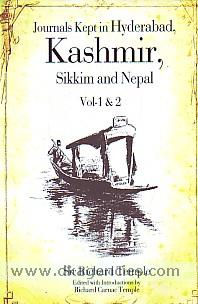 Journals kept in Hyderabad, Kashmir, Sikkim and Nepal. Vol-I & vol-II /