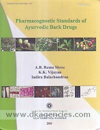 Pharmacognostic standards of ayurvedic bark drugs /