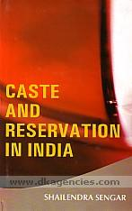 Caste and reservation in India /